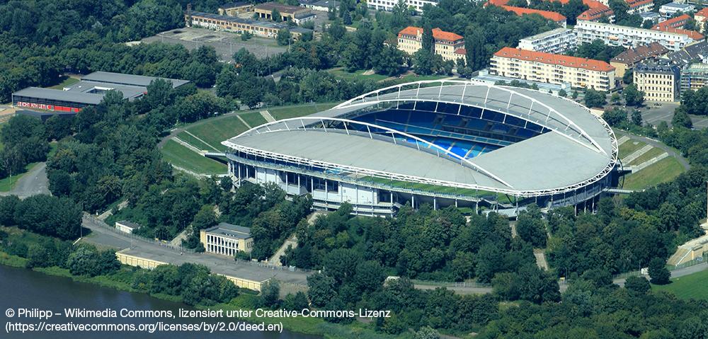 Zentralstadion Leipzig. Foto: Philipp Lizenz: CreativeCommons by-sa-2.0-de (Kurzfassung). Die Originaldatei ist hier zu finden.